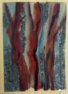 peintures pour Synesthésies de Bernadette Buffet