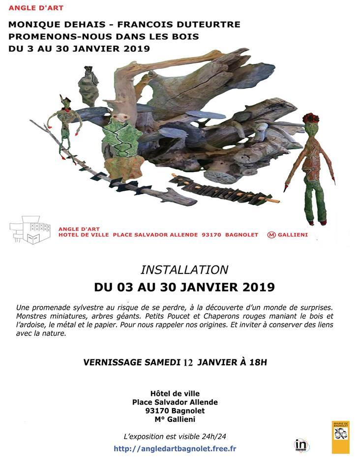 Installation du 3 au 30 janvier 2019