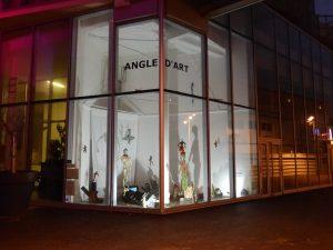 Instalation à Angle d'art . Mairie de Bagnolet  janvier  2019