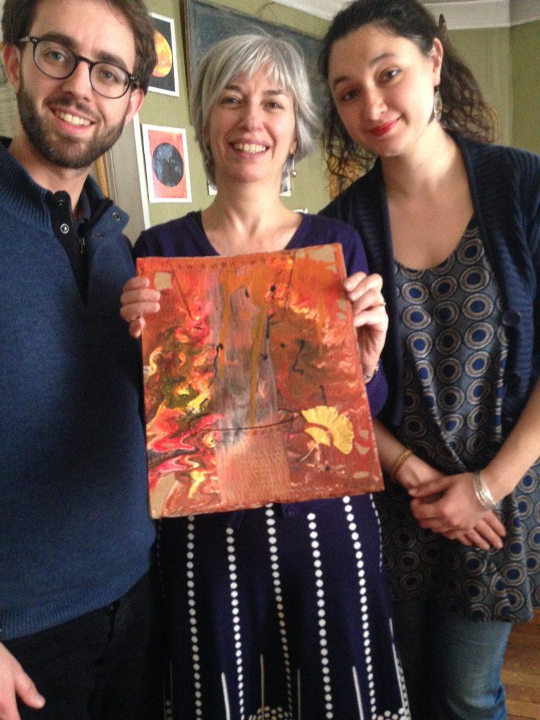 Remis de prix a Frederic et Julie Clepsydre de Karnak